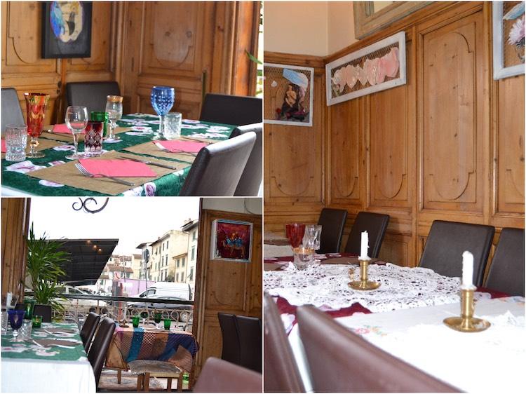 Il Bistrot Gilda è un ottimo ristorante a Firenze davanti al Mercato di Sant'Ambrogio, ideale per pranzi di lavoro e cene romantiche