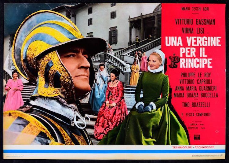 """Il film """"Una vergine per il principe"""" ricalca gli scabrosi antefatti del matrimonio tra Eleonora dei Medici e Vincenzo Gonzaga duca di Mantova"""