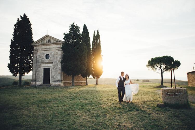 I matrimoni in Toscana sono i primi nella classifica dei matrimoni in Italia per stranieri, secondo l'indagine Destination Weddings in Tuscany