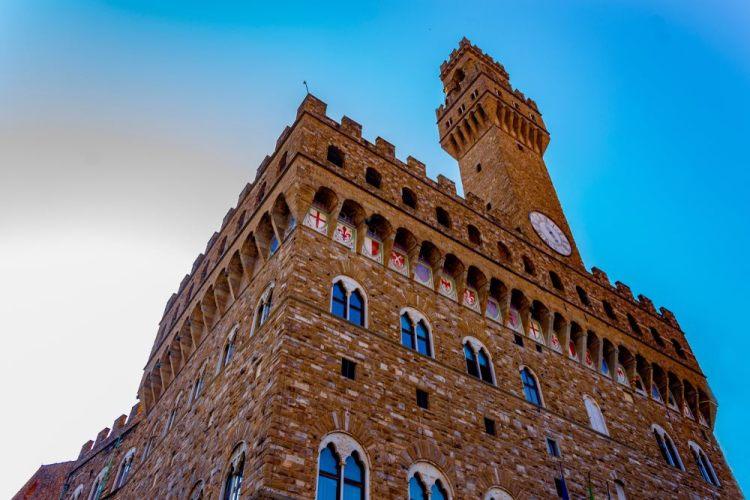 La Torre di Arnolfo di Palazzo della Signoria di Firenze