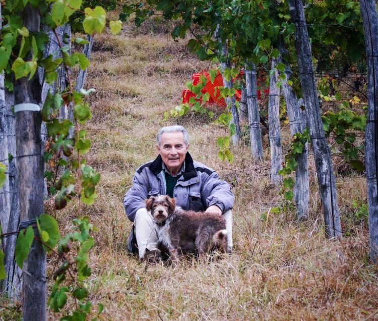 Professor Lorenzo Corino, inventore del Metodo Corino, metodo scientifico per la produzione di uva e vini naturali.