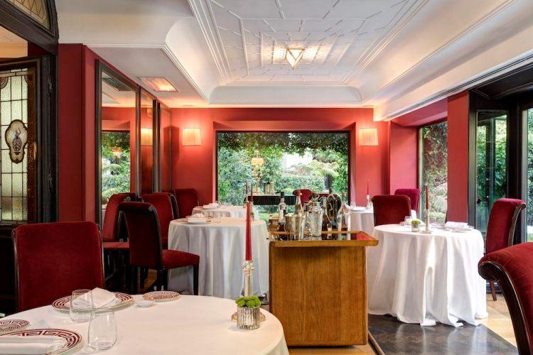Relais Le Jardin, il ristorante del Hotel Regency capitanato dallo Chef Sandro Baldini