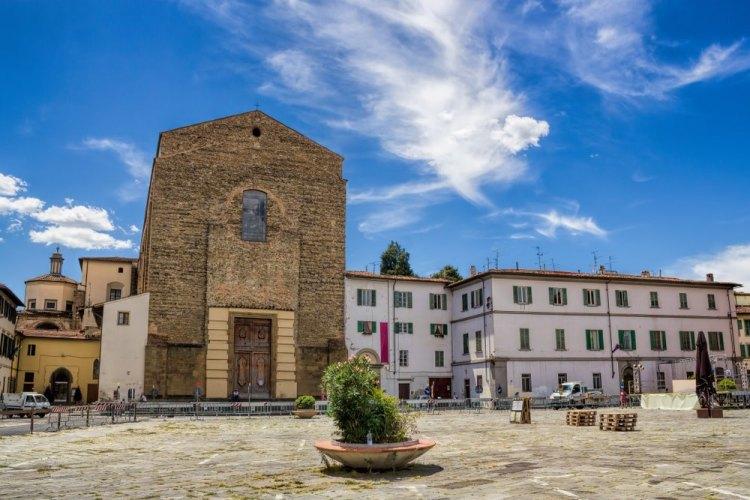 Masaccio è sepolto nella Chiesa del Carmine a Firenze