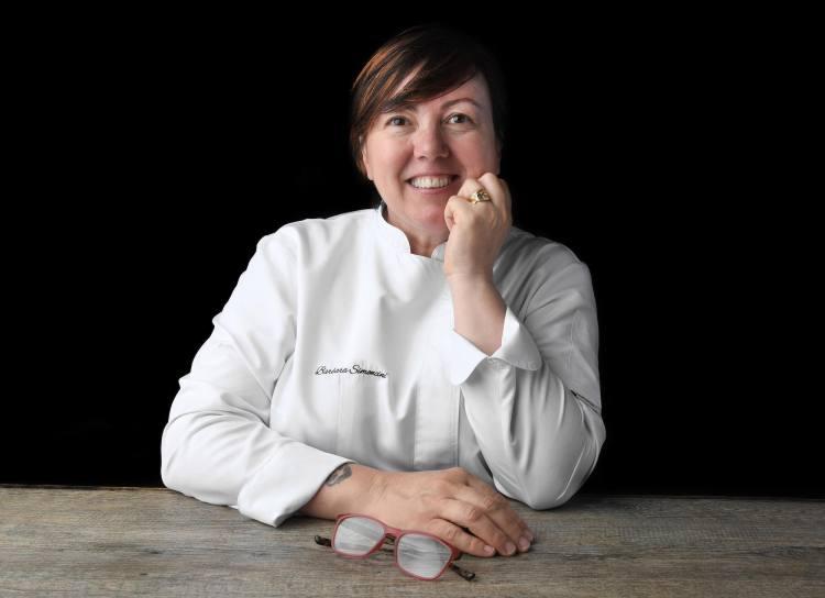 Barbara Simoncini, chef della Locanda Lo Scopiccio, ristorante a Perignano in provincia di Pisa
