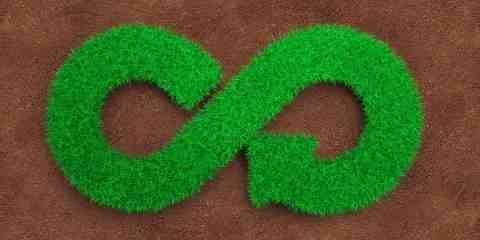Simbolo economia circolare