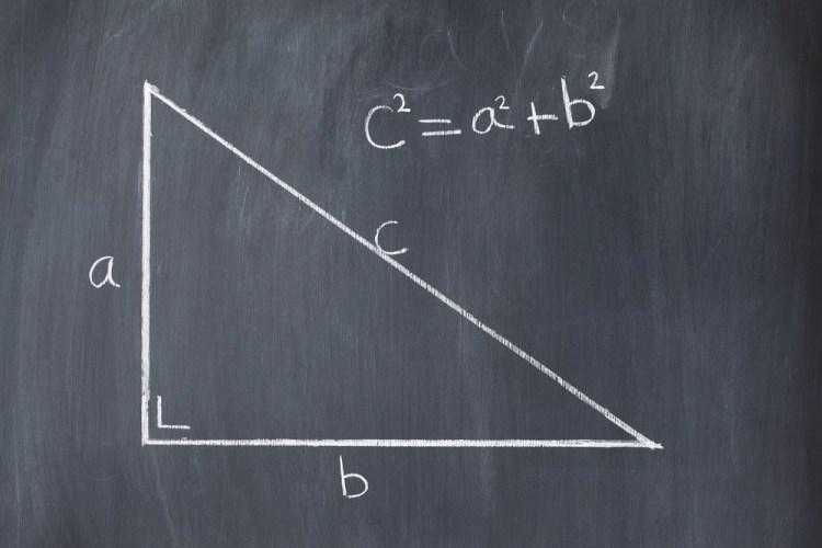 Triangolo rettangolo e teorema di Pitagora