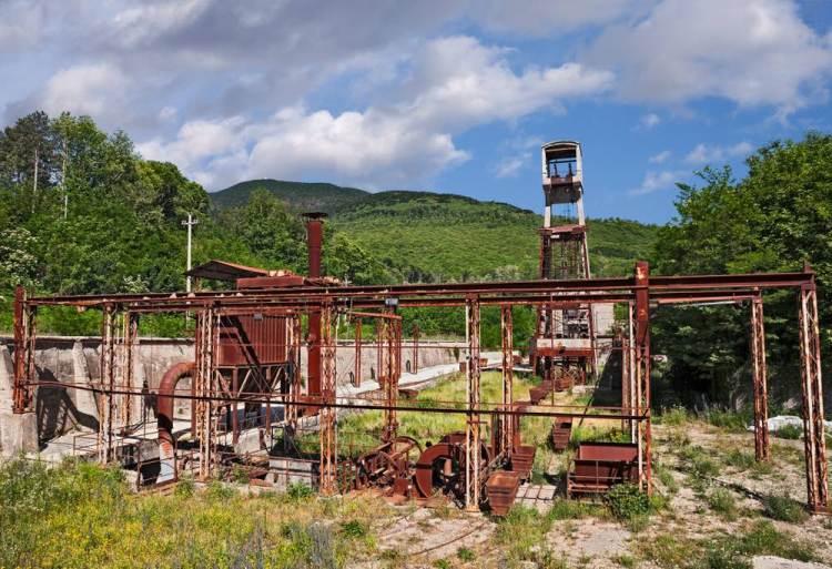 Miniere di Abbadia San Salvatore, borgo toscano sul Monte Amiata