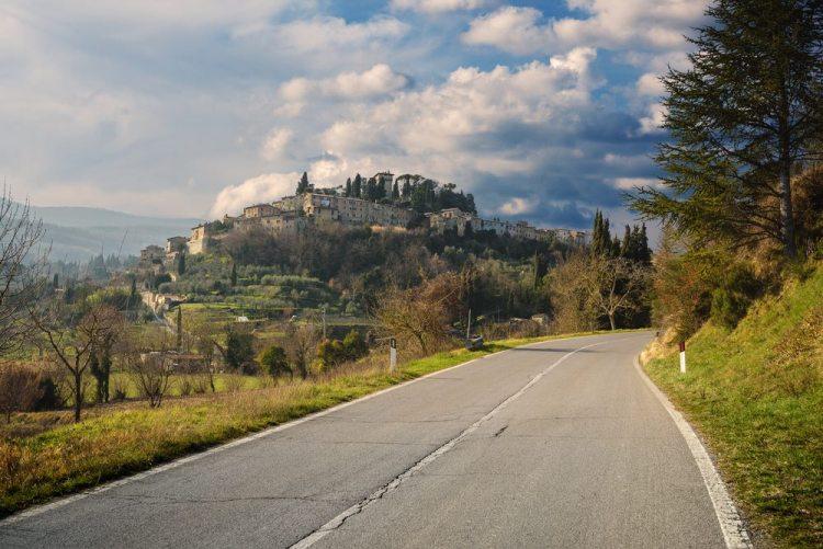 Cetona, borgo toscano in provincia di Siena