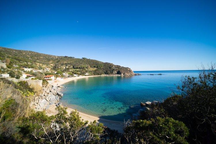 Spiaggia di Cavoli all'Isola d'Elba