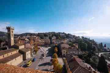 Il borgo toscano di Fiesole