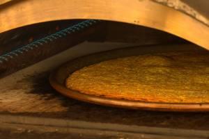 Cecìna o torta di ceci toscana