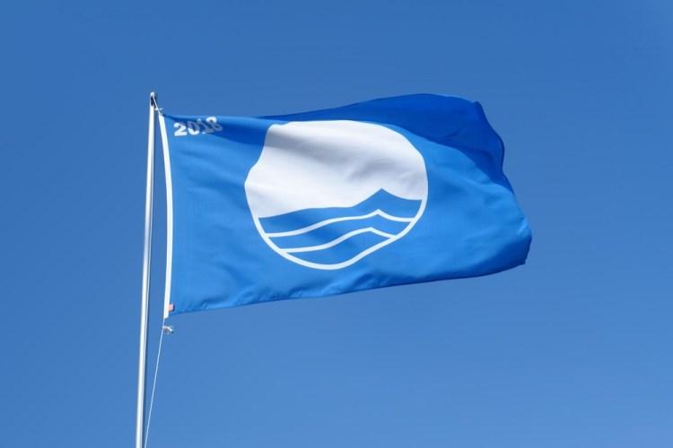 Una delle 20 Bandiere Blu della Toscana