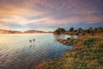 Lago di Bilancino in Mugello, uno dei laghi di Toscana balneabili