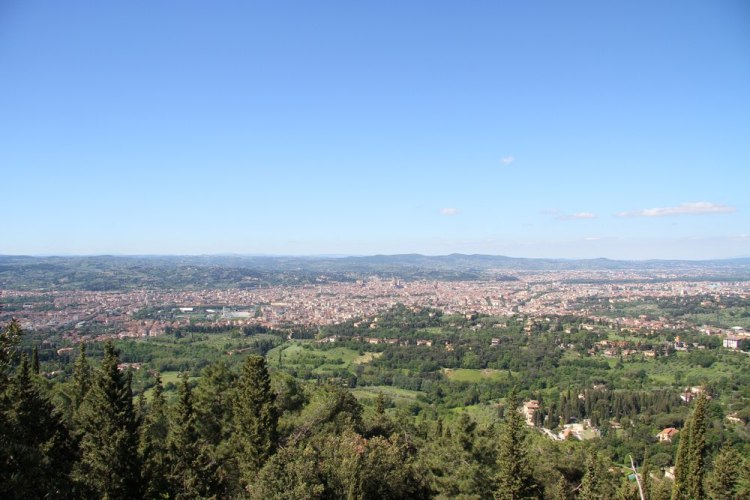 Vista di Firenze da Monte Ceceri