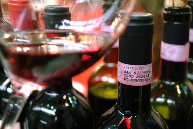 Il Nobile di Montepulciano è uno dei vini famosi della Toscana
