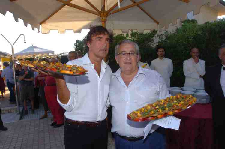 A Tavola sulla Spiaggia - Massimo Gilletti con Guido Guidi