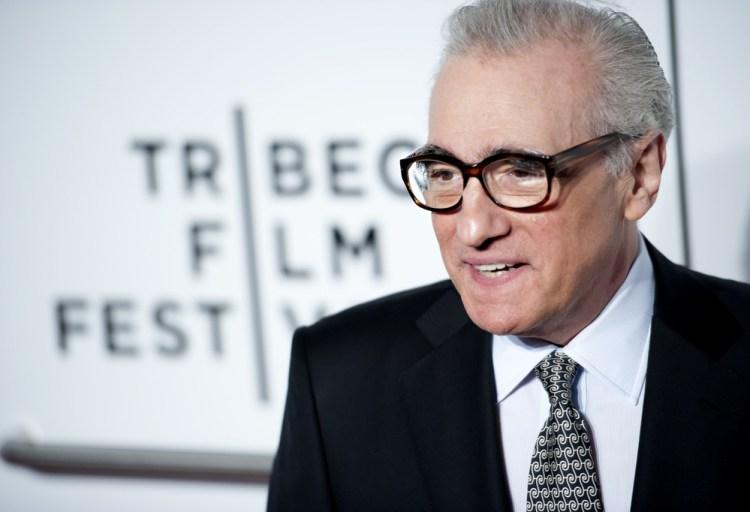 Il regista Martin Scorsese al Tribeca Film Festival