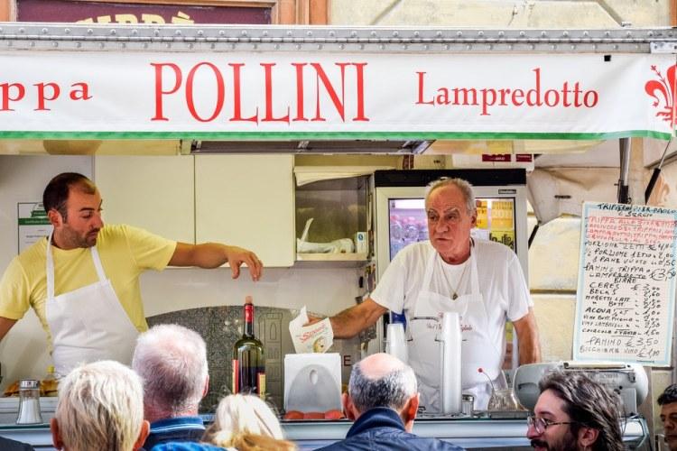 Il Pollini in Sant'Ambrogio è uno degli storici lampredottai di Firenze