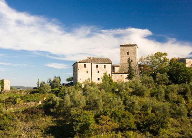 Il borgo medievale di Stigliano a Sovicille in Toscana