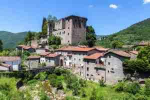 Fortezza di Verrucola nel borgo toscano di Fivizzano