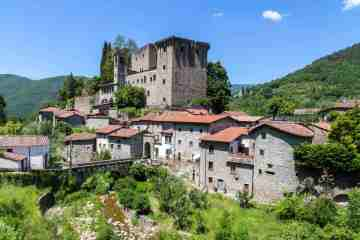 Castello delle Verrucola nel borgo toscano di Fivizzano