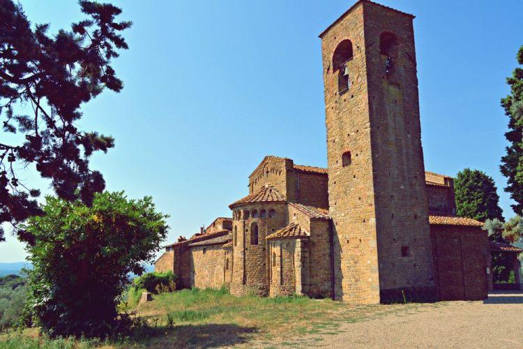 La Pieve di San Leonardo ad Artimino nel comune di Carmignano