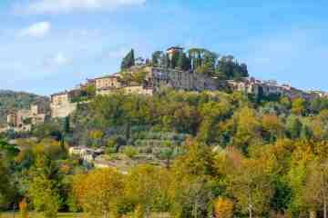 Chiusi è un borgo toscano vicino a Chianciano e al confine con l'Umbria