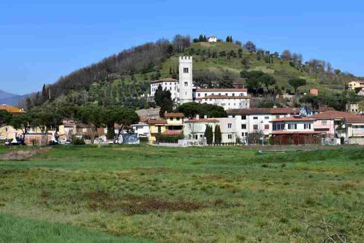 Il borgo toscano di Porcari in provincia di Lucca