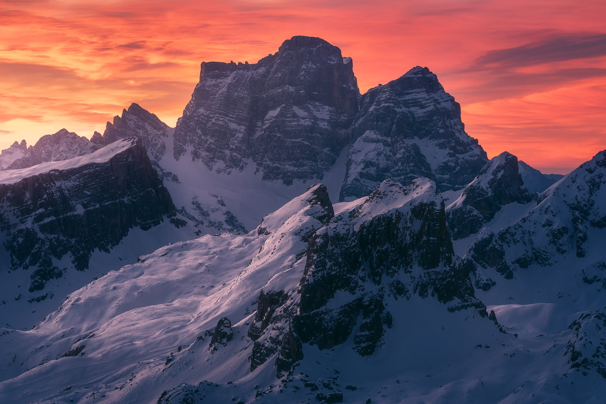 Dolomites winter photo workshop