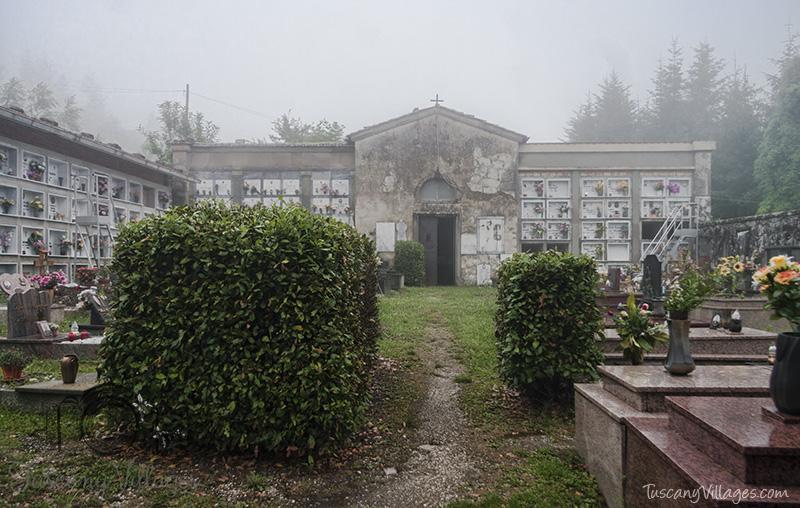 Castelvecchio Cemetery Tomb Stones
