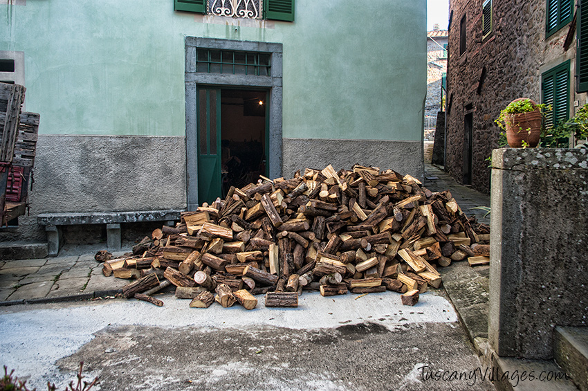 Village Wood for fire