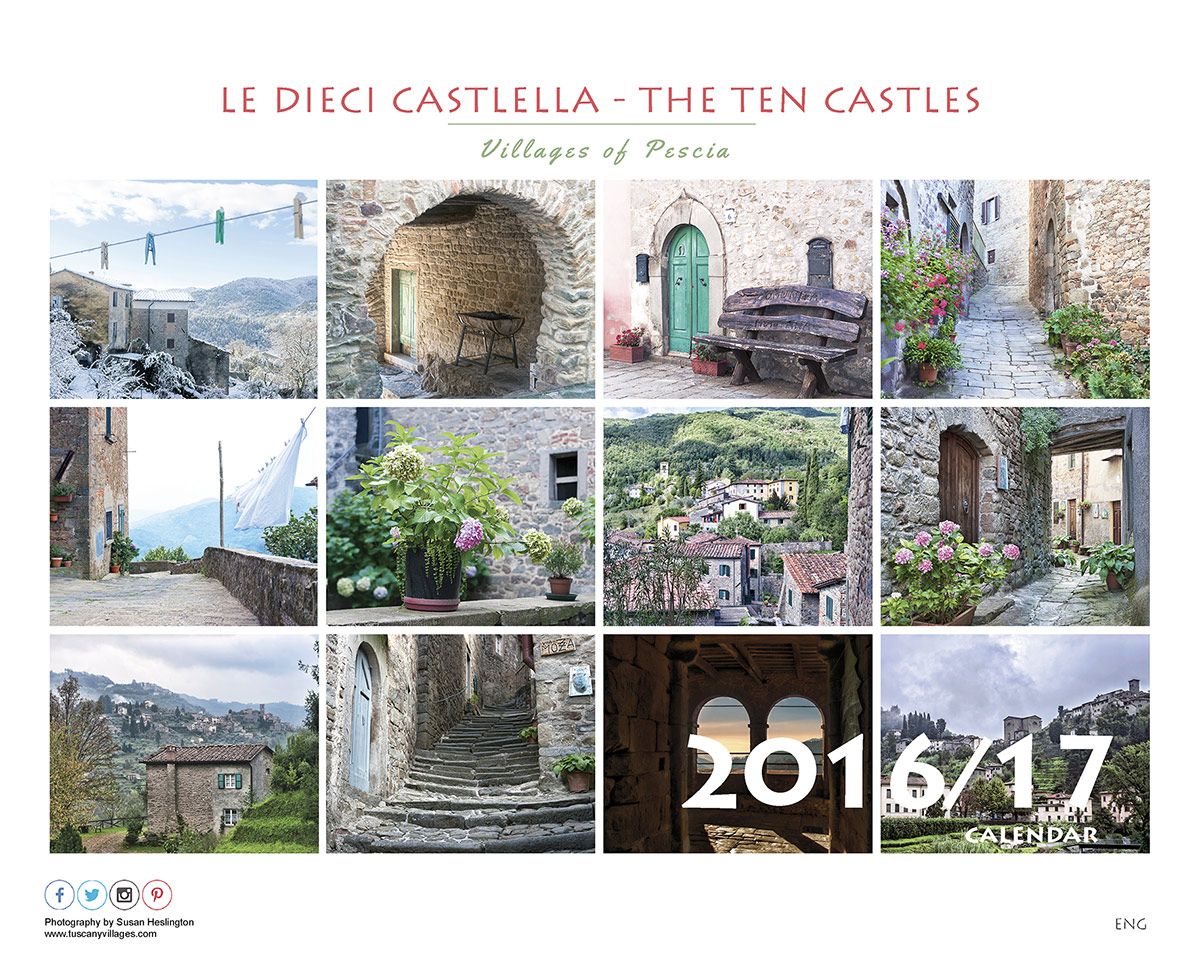 Front Page Tuscany Villages Calendar