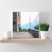 Tuscan Canvas on shelf
