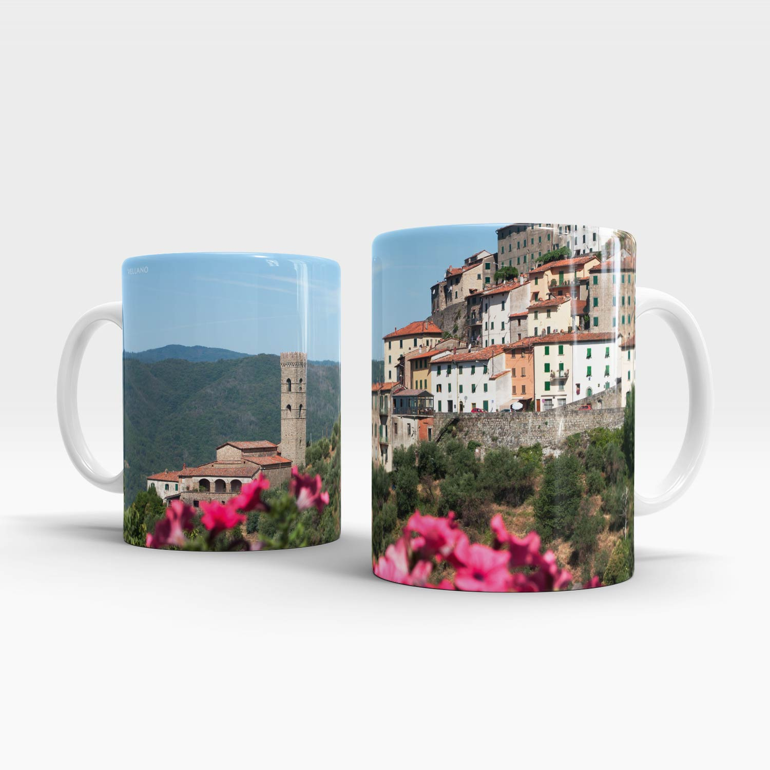 Left and right handle Vellano mug