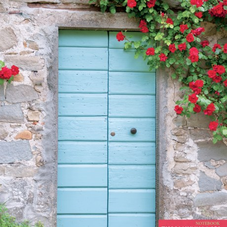 Front Book Cover – Tuscan Door and Flowers