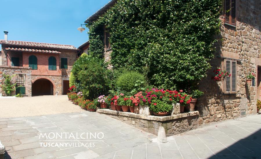Montalcino village, Siena, Tuscany
