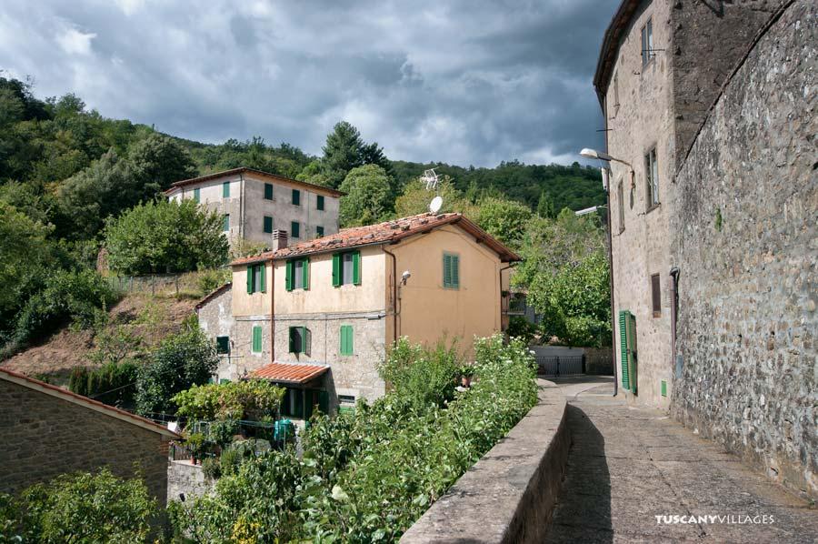 Stiappa houses, Pescia, Tuscany