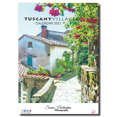 Italy, Tuscany Wall Calendar 2021