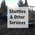 Boundary Waters entry point shuttle service