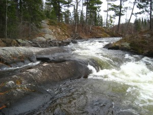 Gull Lake rapids