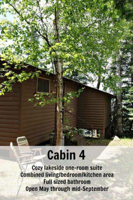 Cabin 4 Pin