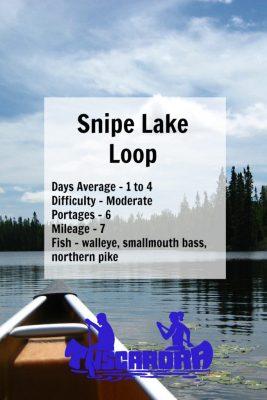 Snipe Lake Loop Pin
