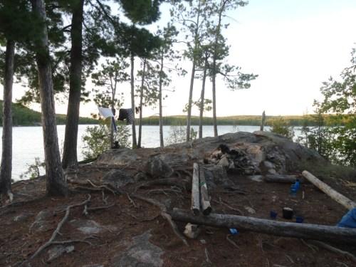 Camping trip Ontario Quetico Provincial Park Boundary Waters