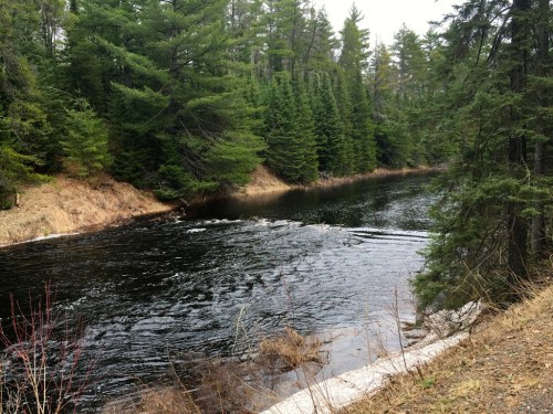 Beaver Dam Explosion on Cross River Gunflint Trail