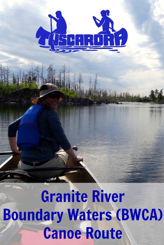 Tuscarora Granite River Canoe Route