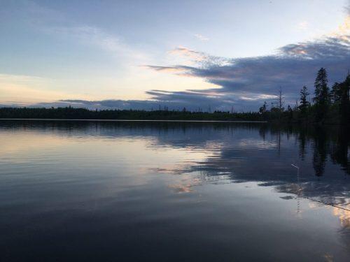 Blue Nights on Round Lake, Gunflint Trail