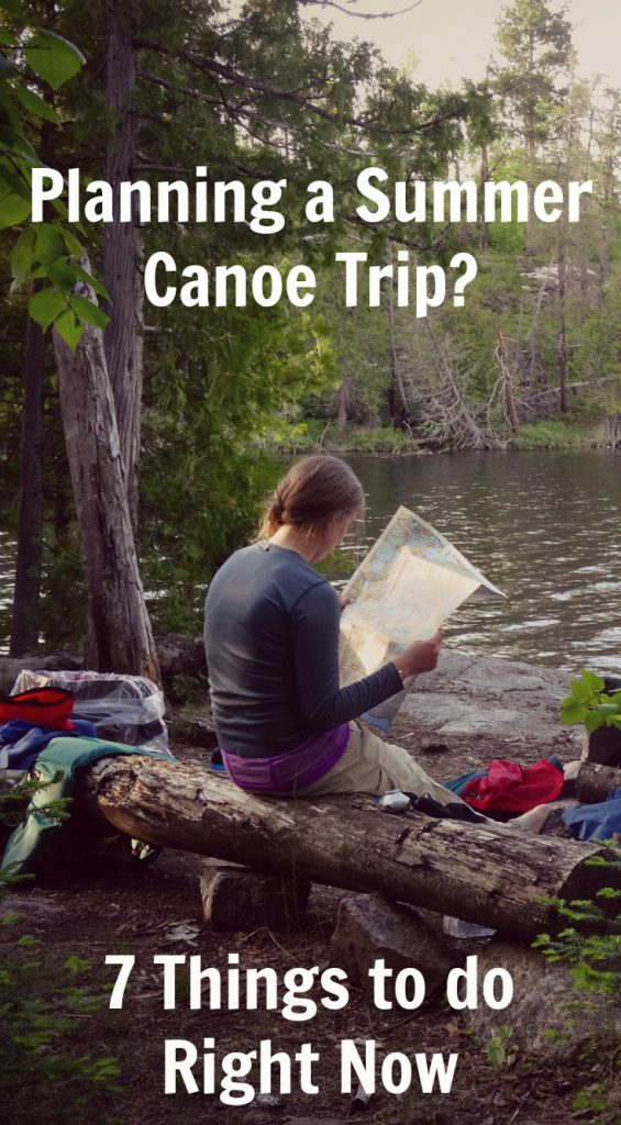 Summer Boundary Waters Quetico Canoe Trip Planning