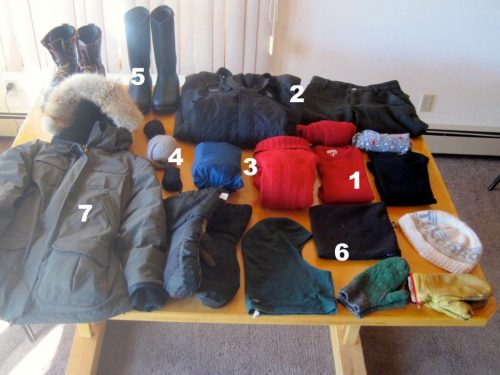 Winter Clothing For the Boundary Waters