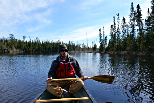 Andy Tuscarora BWCA Paddle April