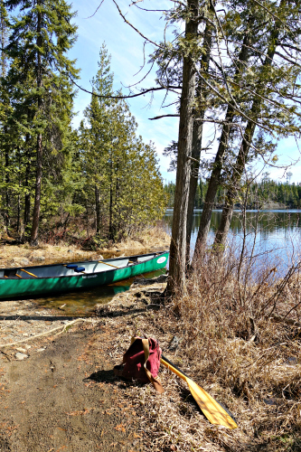 Ham Lake Portage Trail BWCA April
